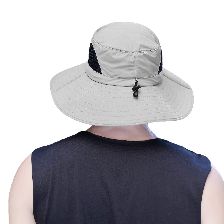 Dracarys Sonnenhut im Freien Schnell Trocknender Sommerhut Zum Angeln Wandern Camping Bootfahren 50UV Sonnenschutz Mit Breiter Krempe Nylonhut