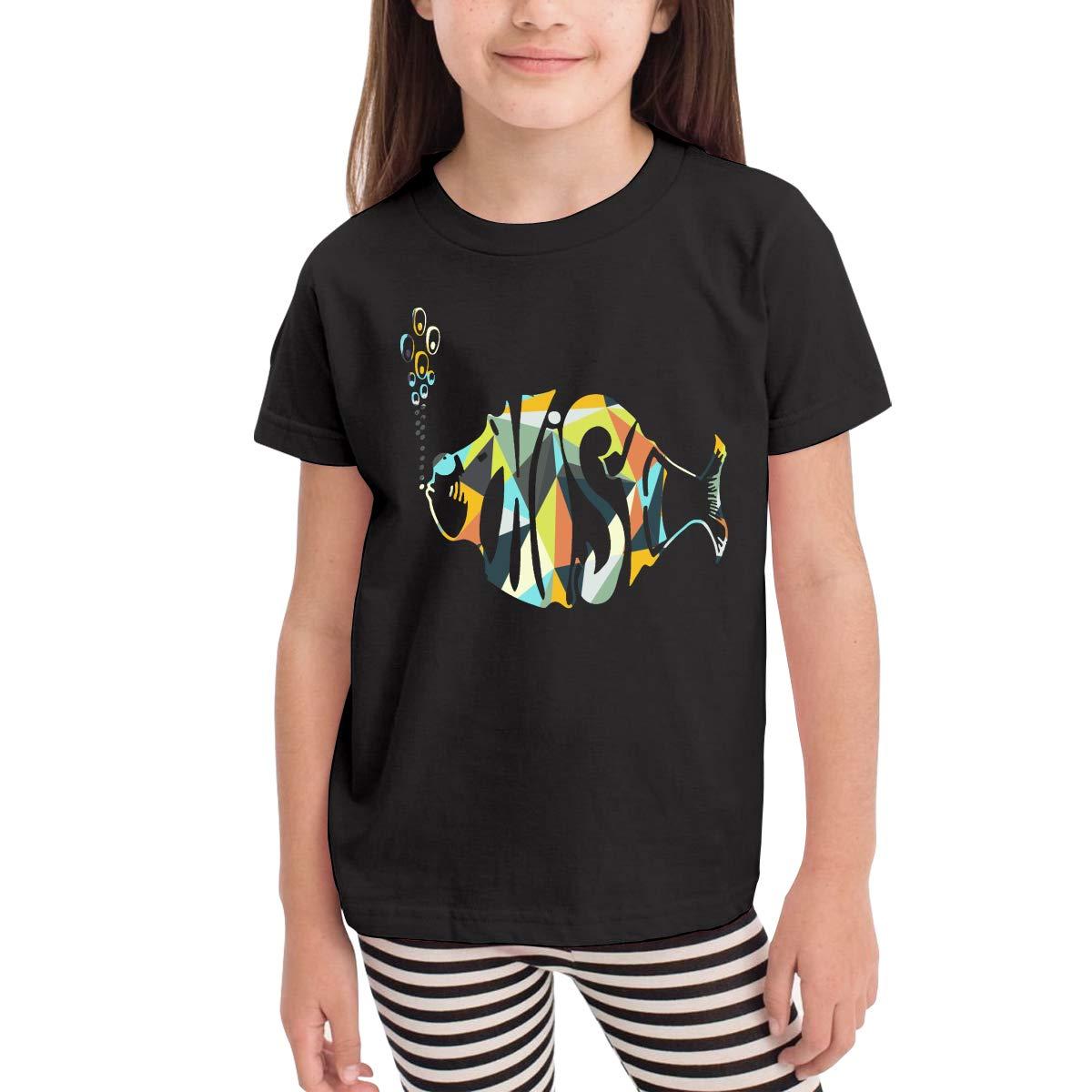 WustegHoodie Youth Boys Girls Fashion Phish Music Band Tshirts Gift