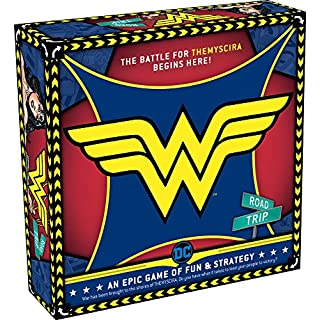 AQUARIUS Wonder Woman Licensed Board Game