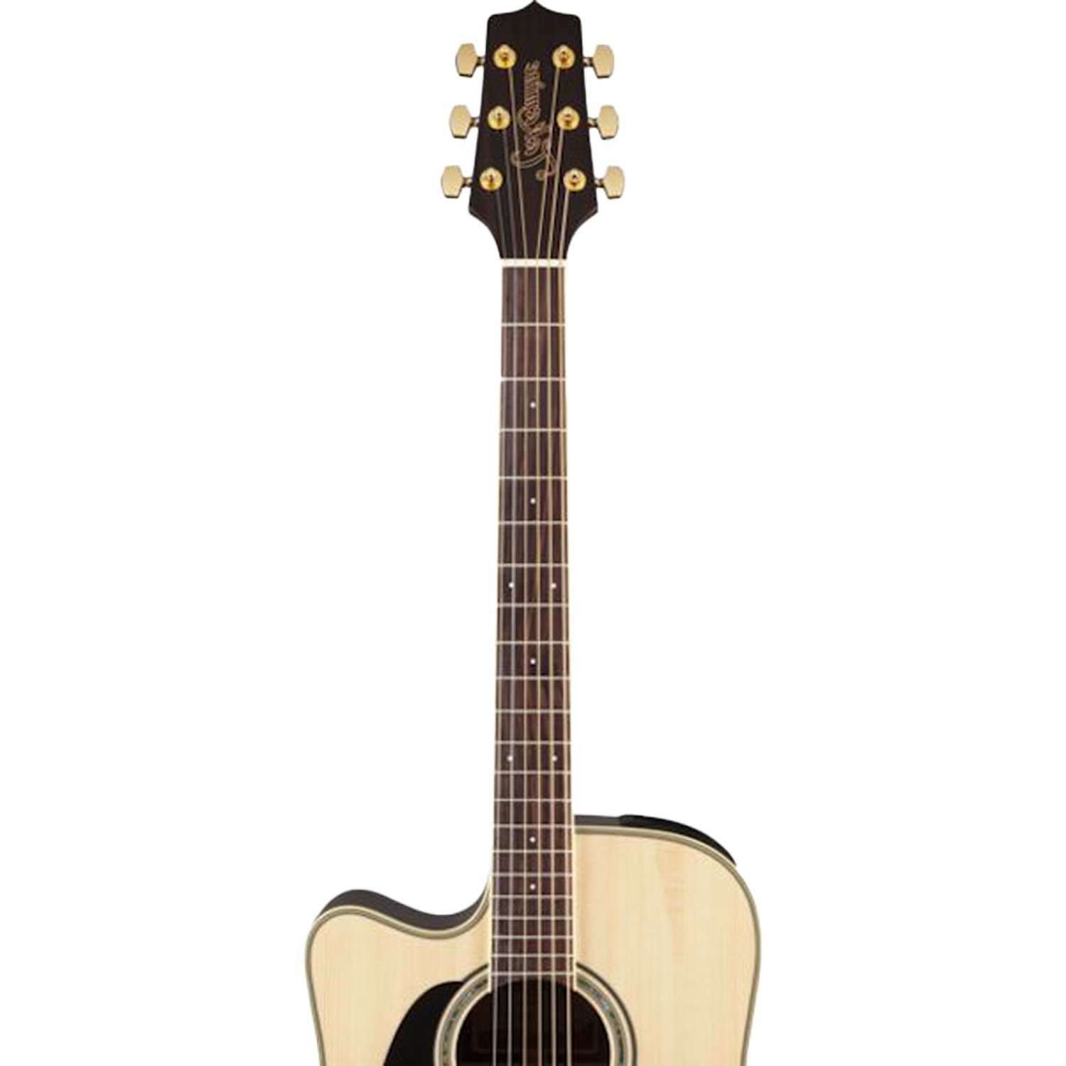 Takamine GD51CE LH NAT Left-Handed Dreadnought Cutaway Acoustic-Electric Guitar, Natural by Takamine