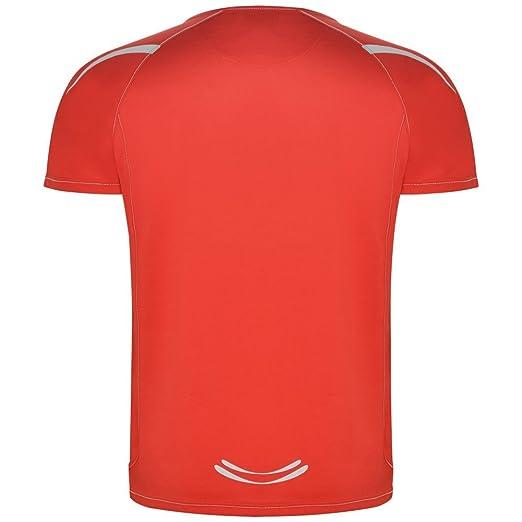 Roly Camiseta técnica de Hombre, roja, Sepang: Amazon.es: Ropa y accesorios