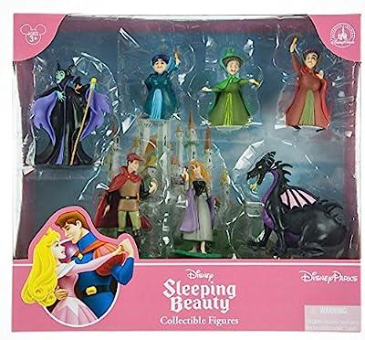 Disney Sleeping Beauty Aurora Collectible Figurine Playset Play Set Cake Topper