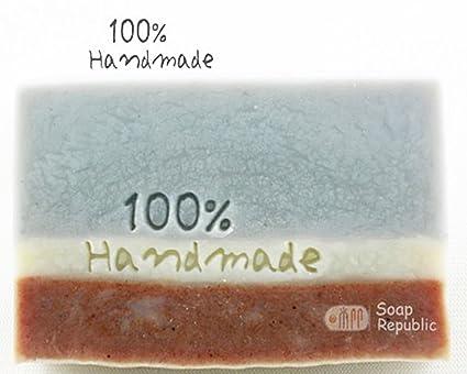 Amazon SoapRepublic 100 Handmade Acrylic Soap Stamp Cookie