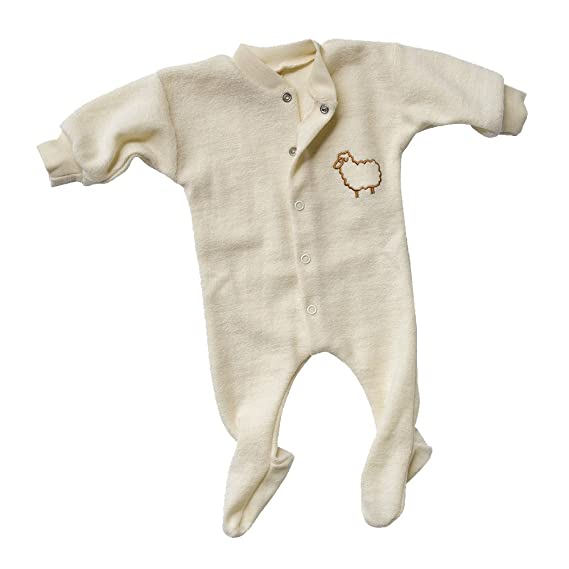 58a45ba5d Engel Natur Premature Baby Sleepsuit, 100% Merino Wool (kbT), Size ...