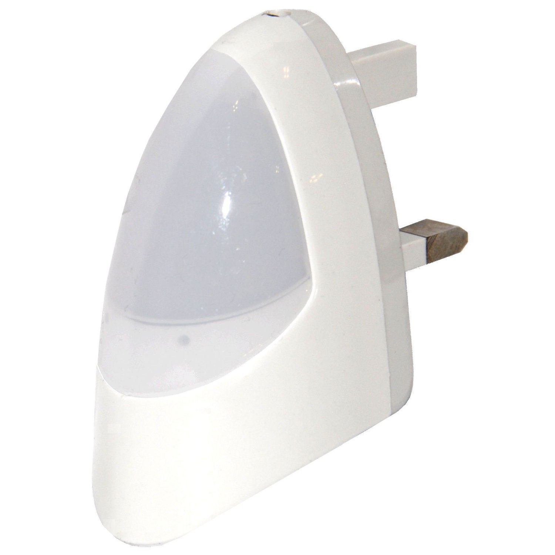 Automatic led energy saving night lamp - Long Life Lamp Company Automatic Led Night Light White Energy Class A Long Life Lamp Company Automatic Led Night Light Red Dusk 2 Dawn Energy Class