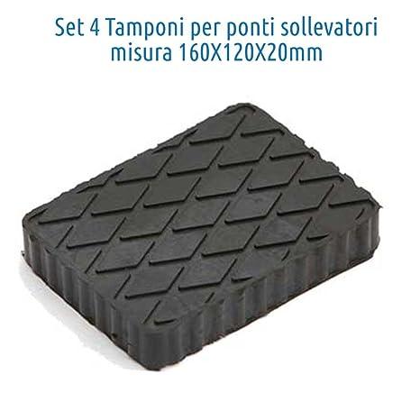 Tamponi Per Ponte Sollevatore Tampone In Gomma 20mm Kit 4pz Per