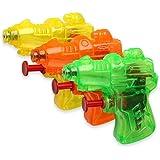 S/O® 6er Pack Wasserpistole Mini Space Wasserpistolen Wasser Pistole Water Gun Watergun