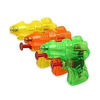 Schramm 6er Pack Wasserpistole Mini Space Wasserpistolen Wasser Pistole Water Gun Watergun