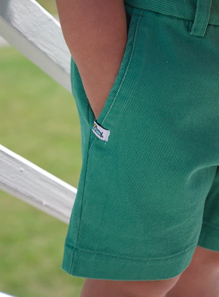 BYRDEES Basics Boys Shorts in Green Daze