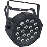 LaluceNatz Par Light with RGB 18LEDs Wash Light by Remote and DMX Control for Wedding Church Stage Lighting