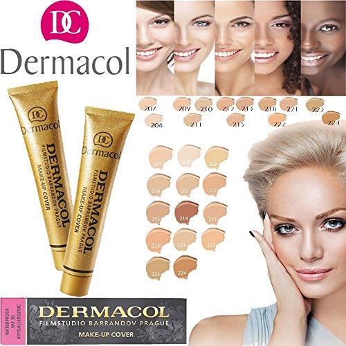 Dermacol Make-up Cover Waterproof SPF30 Concealer foundation 30g # 223