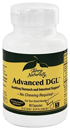 Terry Naturally Advanced DGL EuroPharma – 60 Caps Pack of 3