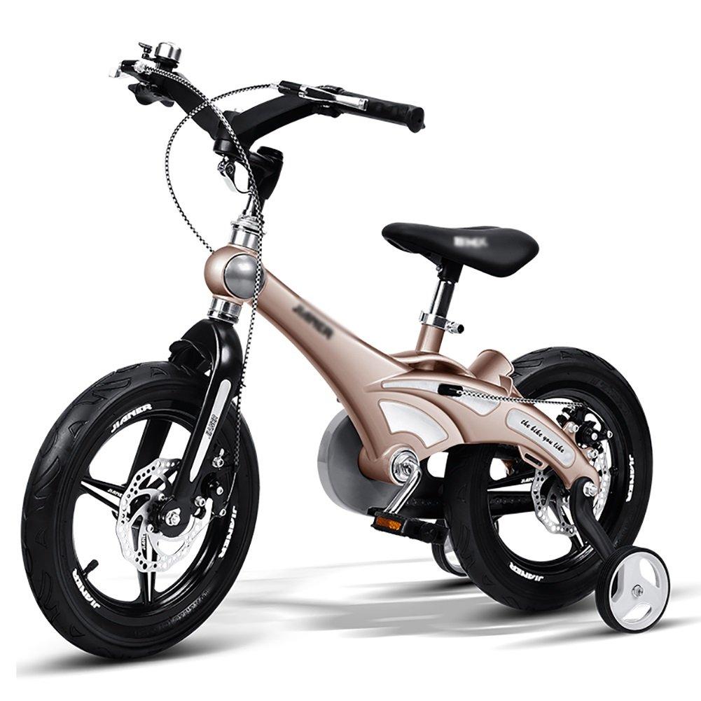 子供の自転車の少年少年12 14 16インチベビーカーの2-3-6歳の子供の自転車ゴールドイエローブルーピンク B07DXD3H2H 12 inch|イエロー いえろ゜ イエロー いえろ゜ 12 inch