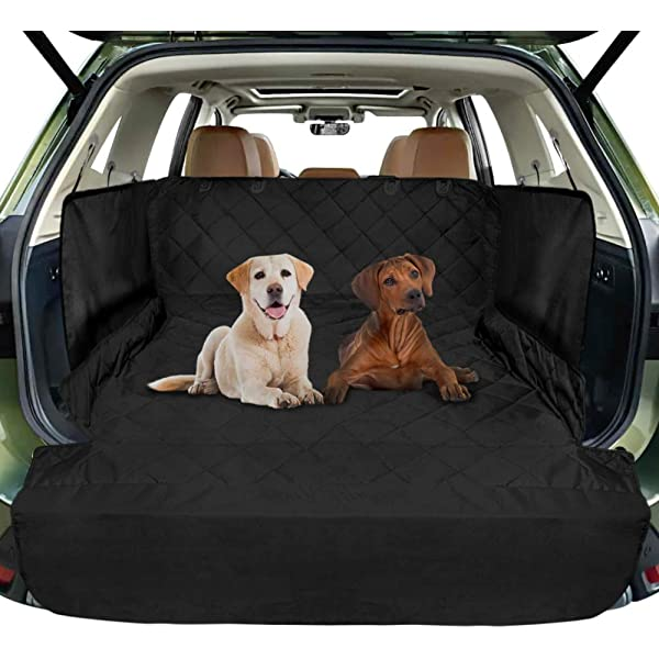 Pet Products Quilted Vehicle Cargo Cover /& Liner For Dogs With Bumper Protection