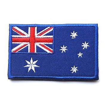 Amazon.com: showplus Oceanía bandera Militar bordado ...