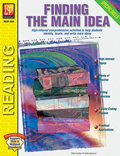 Specific Skills Series: Finding the Main Idea | Reproducible Activity Book (Main Idea And Details Worksheets 3rd Grade)