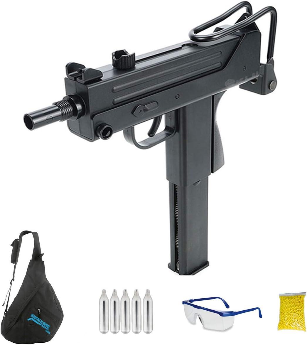 KWC M11 (6MM - Pistola de Airsoft Calibre 6mm (Arma Aire Suave de Bolas de plástico o PVC). Sistema: CO2. <3,5J
