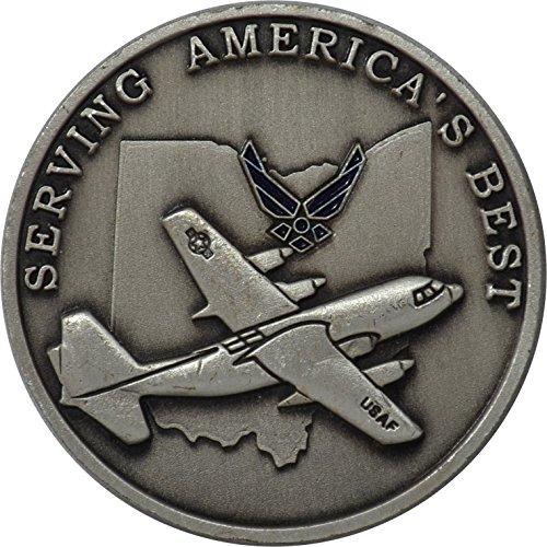 al Guard Challenge Coin (Air National Guard Bases)