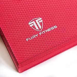 Amazon.com : Fury Fitness Foam Balance Pad Bundled with