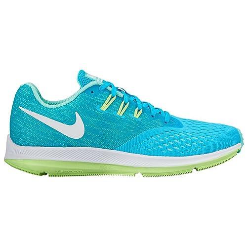 f12e51cdc0408 Nike Air Zoom Winflo 4 Chlorine Blue/White/Hyper Turquoise Women's ...