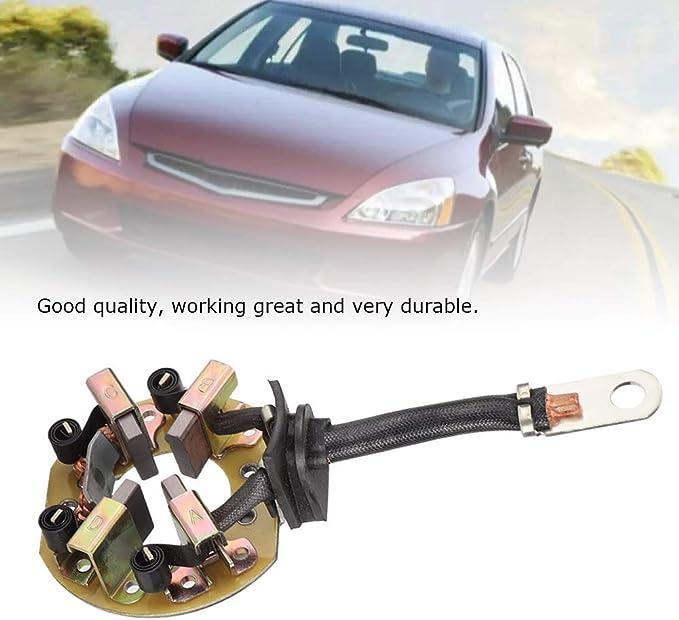 Support de balai de charbon de d/émarreur de voiture adapt/é pour ACCORD ODYSSEY 2.2L 31208-P0G-A01 31208-P0G-A02 Support de balai de charbon