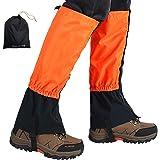 Ushining 登山スパッツ 登山ゲイター ロングスパッツ 防水 泥除け 雨よけ 雪対策 トレッキング アウトドア 男女兼用