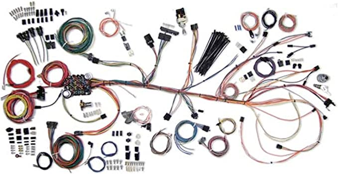 Amazon.com: American Autowire 500981 Wire Harness System for 64-67 Chevelle:  AutomotiveAmazon.com