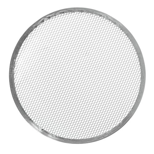 "HUBERT Aluminum Pizza Screen with Seamless Rim 17""Dia"