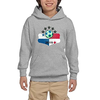 Soccer Game 2018 Panama Youth Pullover Hoodies Hip Hop Pockets Sweaters