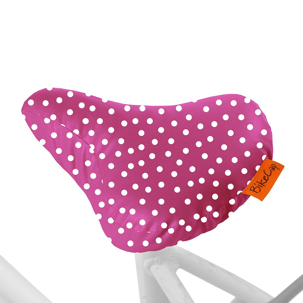 L BikeCap Dot Fahrradsitz-Schutzh/ülle Pink Gr