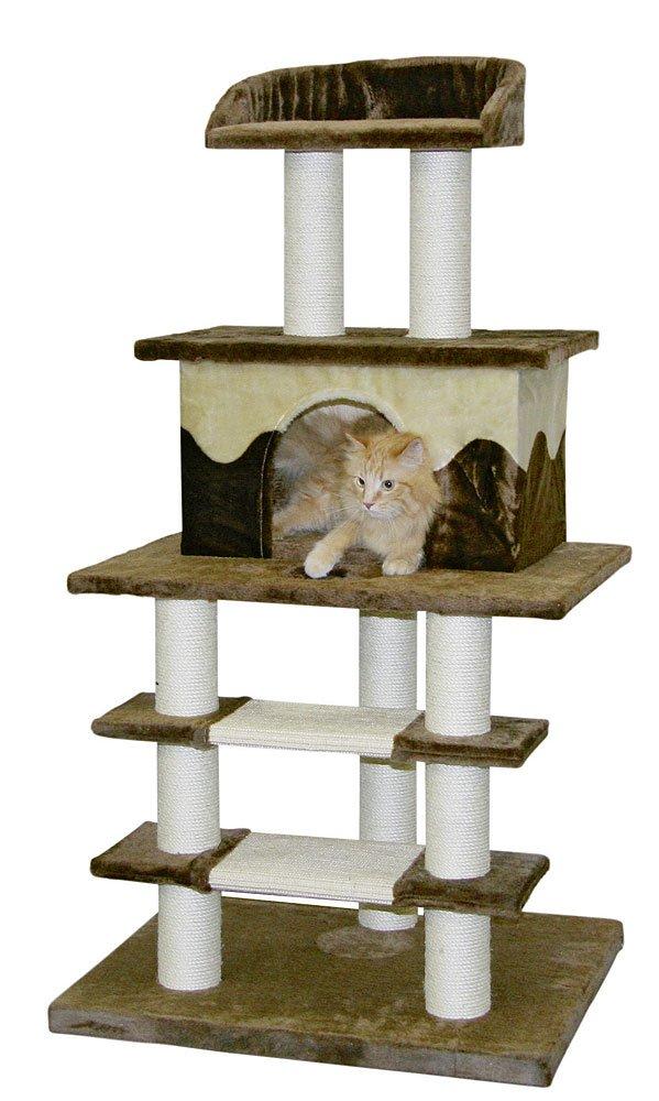 kratzbaum fr groe katzen selber bauen entfernen sie als erstes die rinde von der astgabel damit. Black Bedroom Furniture Sets. Home Design Ideas