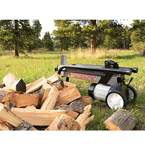 (Dirty Hand Tools 100481 Log Splitter Horizontal - Electric, 5 Ton, 2HP, 120V, 25 Second Cycle)