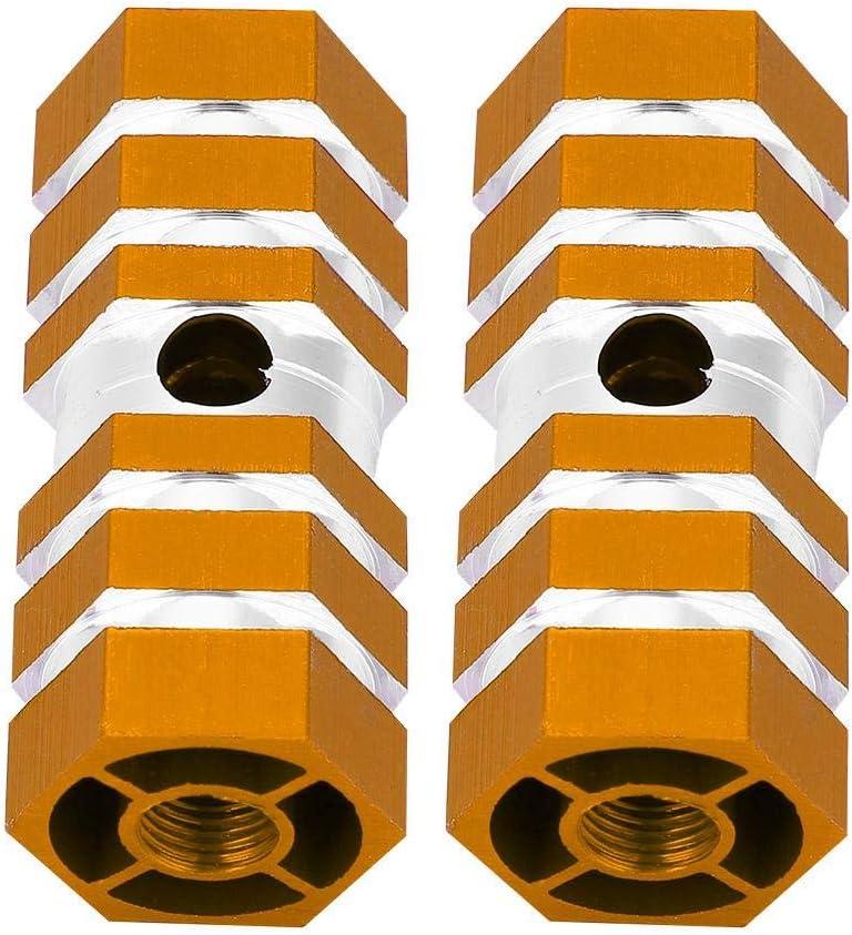 VGEBY1 Fahrradachsen-Pedalheringe BMX-Hinterachsheringe Fahrradfu/ß-Bremsungs-Heringe verlegte Bremsungs-Roller