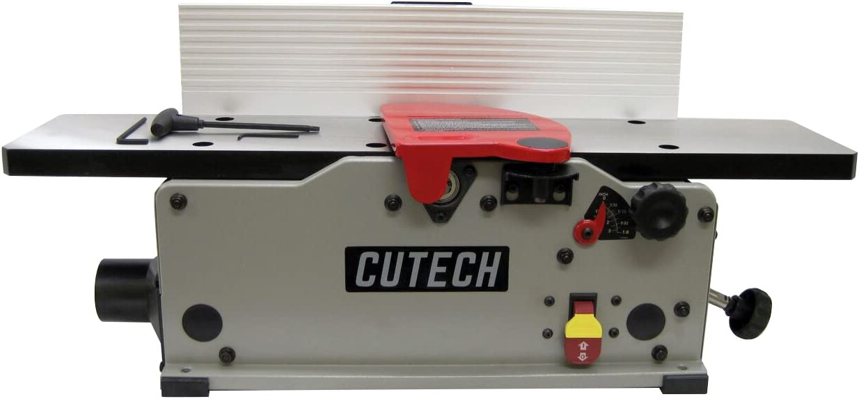 Cutech 40160HC-CT 6 Bench Top Spiral Cutterhead Jointer with Carbide Tips