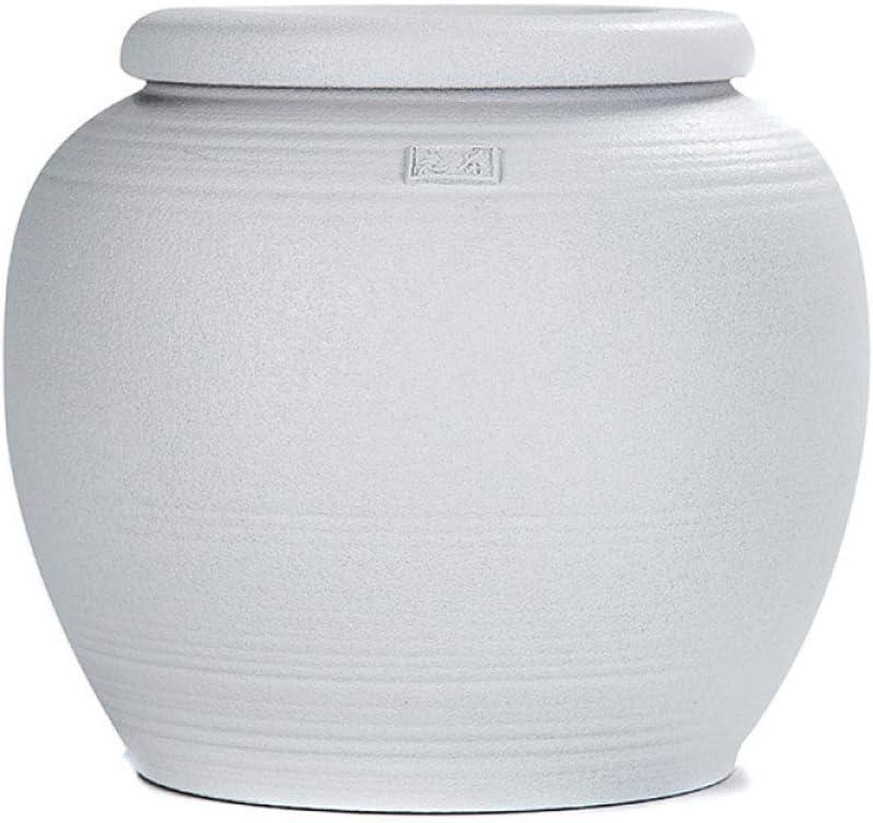 大人の白いセラミック葬儀壷記念高品質壷用人間のための美しい大火葬灰骨壷