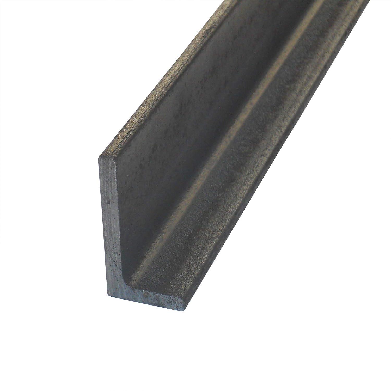 roh Oberfl/äche blank Stahl ST37 Abmessung 40 x 20 x 4 mm L-Profil Winkelprofil L/änge 150 cm gewalzt S235 Winkel ungleichschenklig