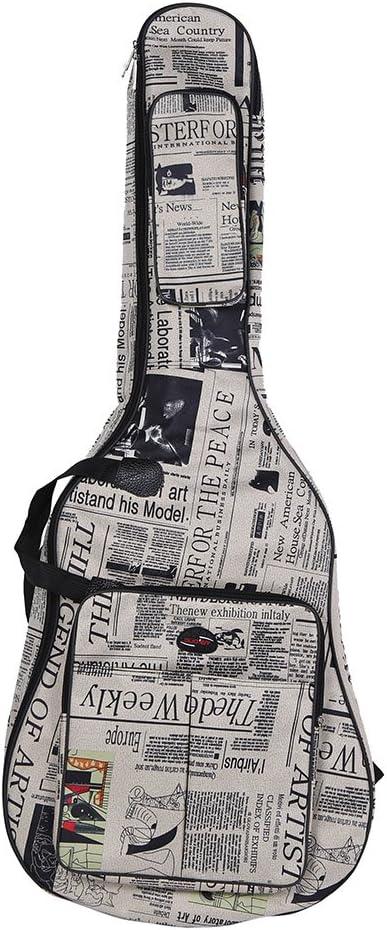 ammoon Funda para Guitarra 600D Resistente al Agua Tejido Oxford ...