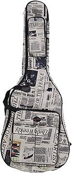 ammoon Funda para Guitarra 600D Resistente al Agua Tejido ...