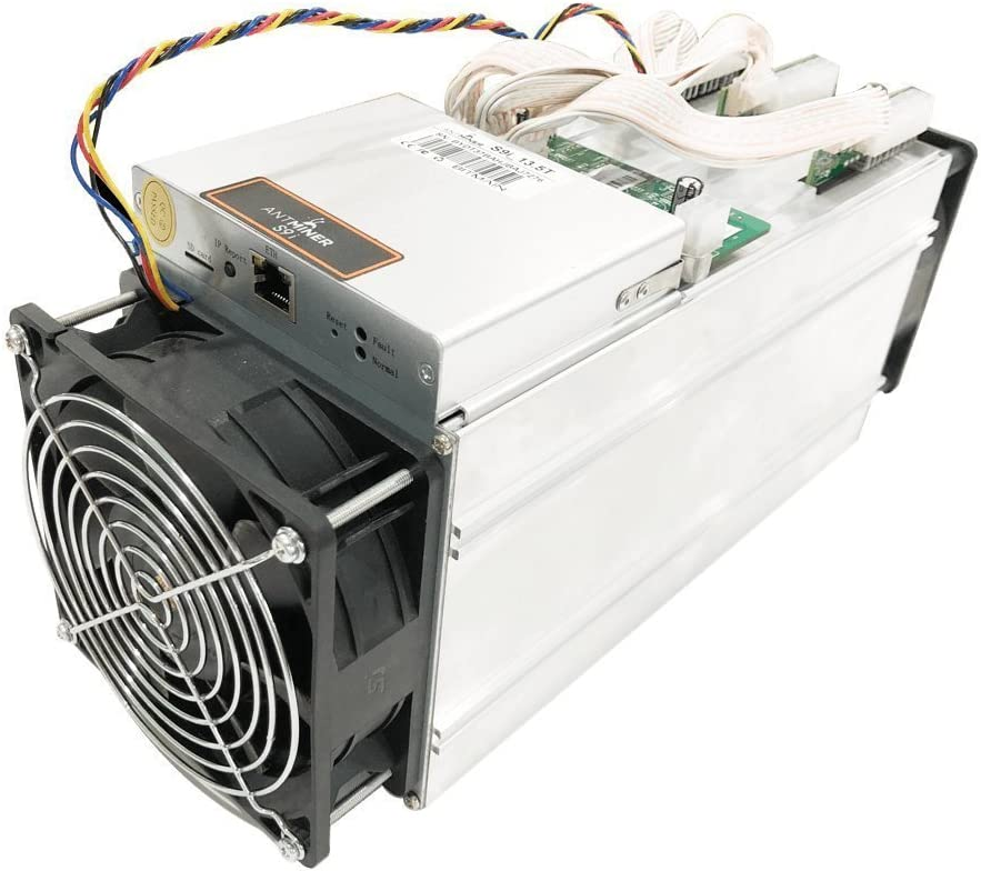 Antminer S9i ~13.5TH//s @ .097W//GH 16nm ASIC Bitcoin Miner Lower Power Consumption than S9