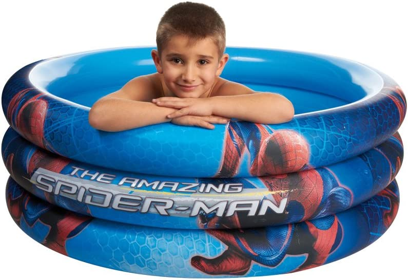 Giochi Preziosi, Spiderman, Piscina Hinchable 3Tubos, 100x 50cm