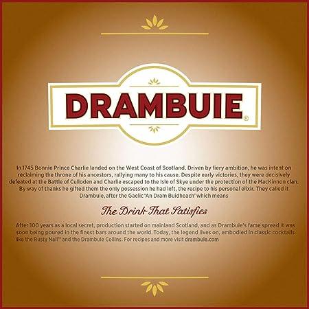Licor whisky drambuie t.r. 40º, 700 ml