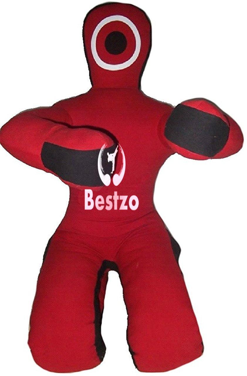 大特価 bestzo Unfilled MMA Martial ArtsブラジルGrapplingダミーレッドSitting Position – ft) Unfilled 59 inches MMA (5 ft) Synthetic Leather Red B01MG4YV5Q, 塩原町:944d7c9b --- a0267596.xsph.ru