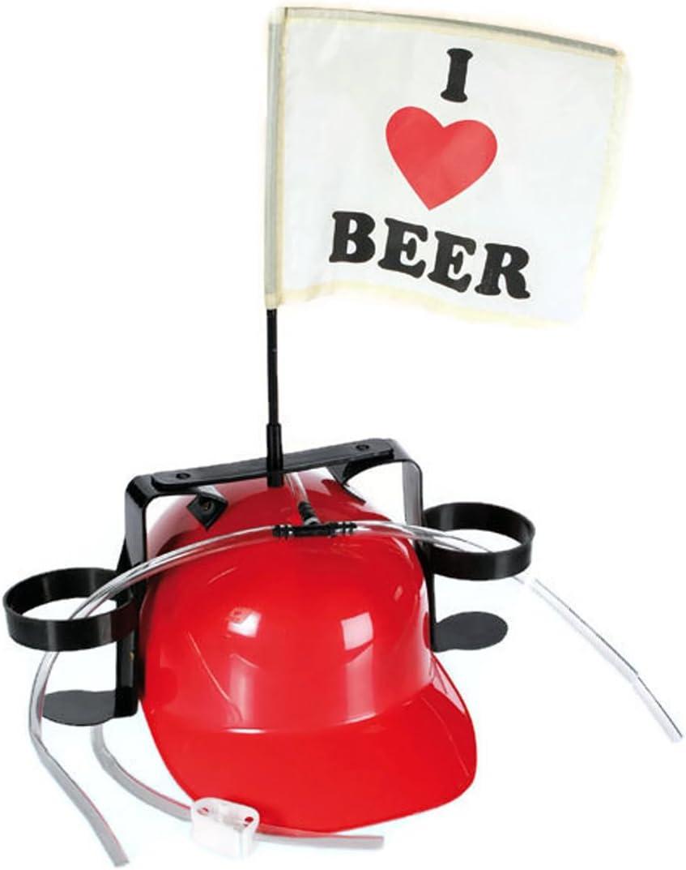 Bada Bing Bierhelm BLAU Verkleiden Trinkhelm JGA Bauhelm Getr/änkehalter Bierhalter Karneval 066
