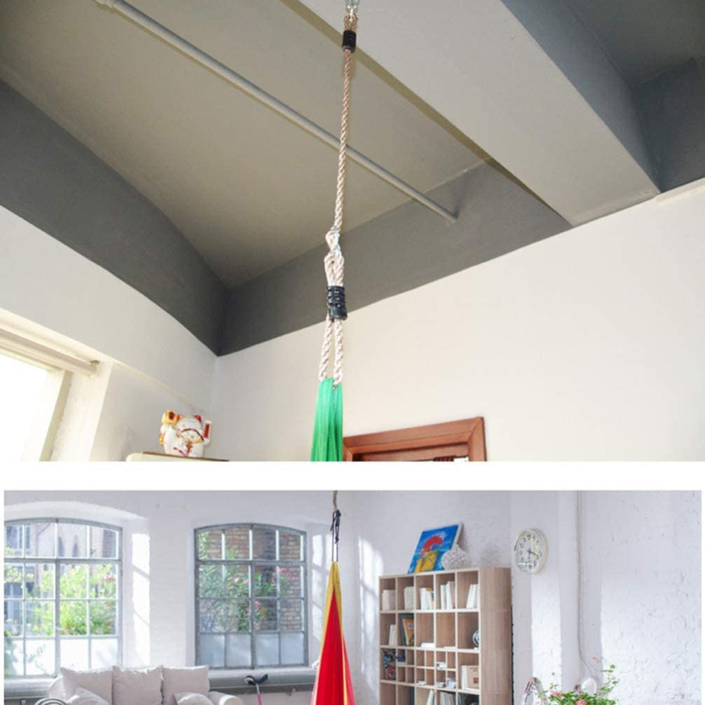 Yardwe Cinghie pendenti per altalena con staffa regolabile