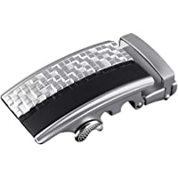 LUXURY MEN'S LEATHER BELT BOXED Automatic Ratchet Buckle Belts in a Variety of Colours 1.5'' (35mm) Wide Fully Adjustable to Fit Any Waist Size up To 42''. Genuine Leather Strap