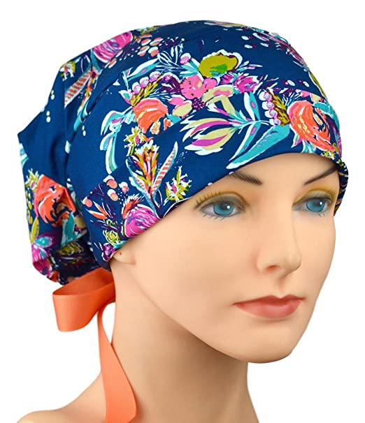 e040a99b257 Image Unavailable. Image not available for. Color  Womens Surgical Scrub  Hat Adjustable ...