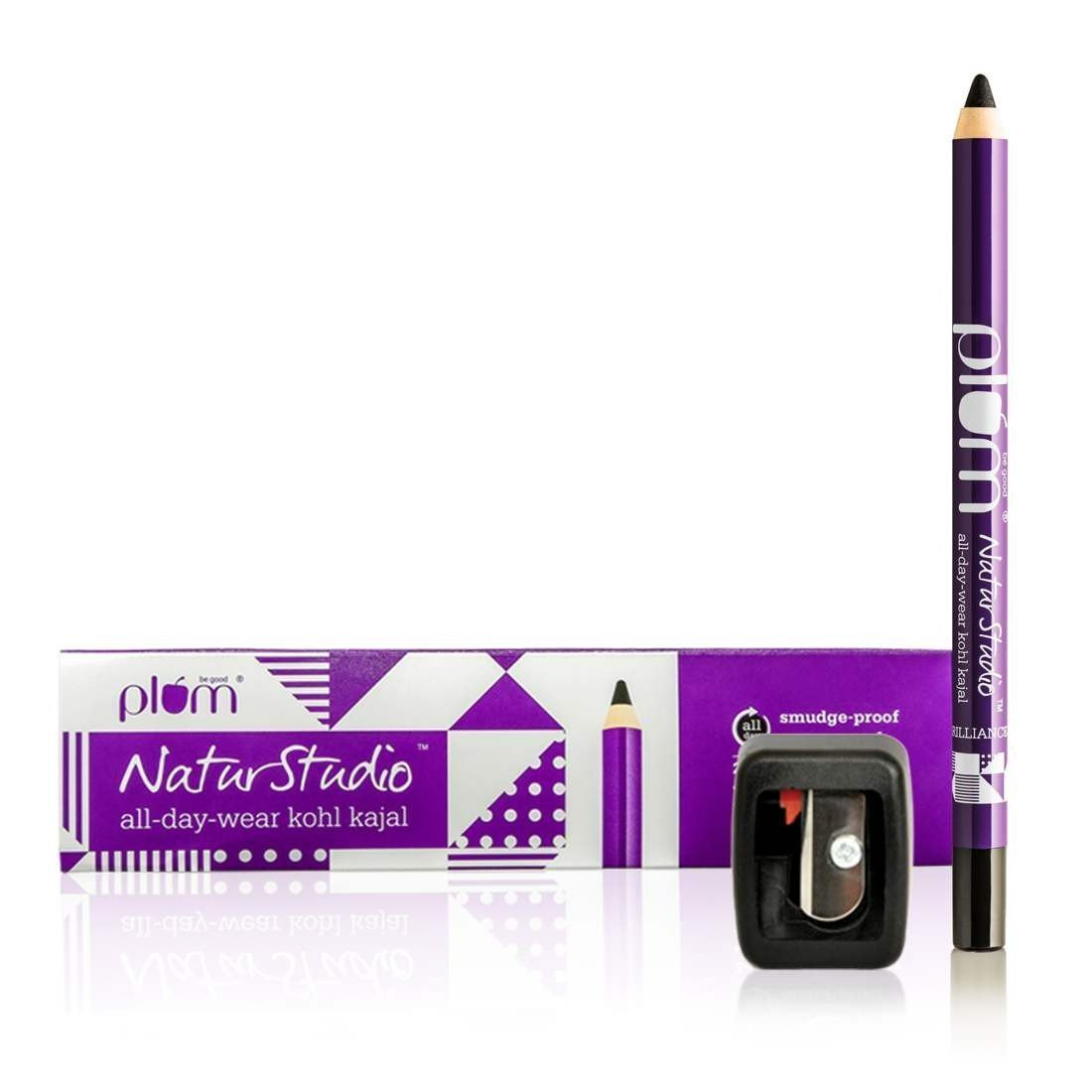Plum NaturStudio All-Day-Wear Kohl Kajal(with free
