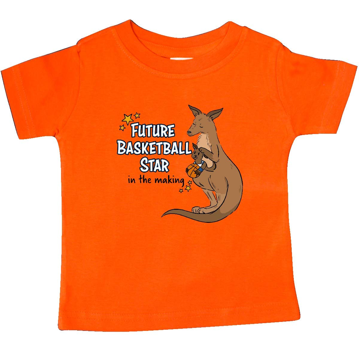 inktastic Future Basketball Star in The Making Kangaroo Baby T-Shirt