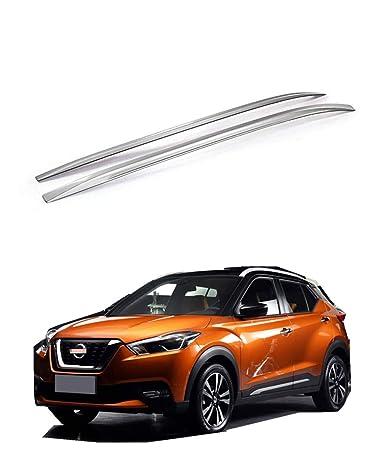 Amazon.com: Perchero de techo para Nissan Kicks 2018, barras ...