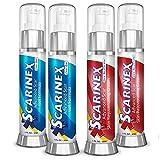 Scarinex: Advanced Scar Removal Cream & Gel (4 bottles: 2 scar gels + 2 skin rejuvenators)